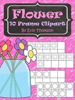 Flower 10 Frame Clipart