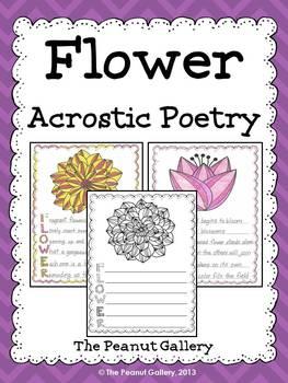 Flower Acrostic Poetry