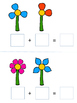 Spring Flowers Visual Addition