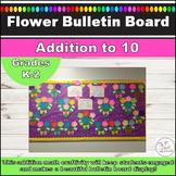 Flower Addition to 10 Spring Math Bulletin Board or Achievement Board