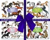 Flower Alphabet Clip Art Set from Clever Vectors