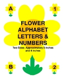 Flower Alphabet Letters & Numbers