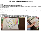 Flower Alphabet Matching