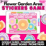 Flower Area Garden SMART BOARD Game - Common Core Aligned