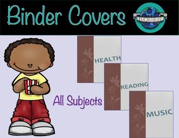 Flower Binder Covers