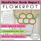 Flower Book Report Project Nonfiction 2nd & 3rd Grade
