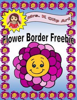 Flower Border FREEBIE