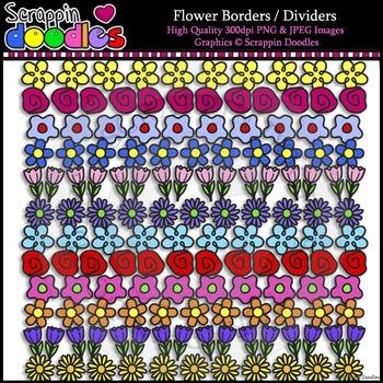 Flower Borders / Dividers