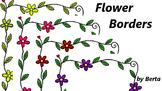 Flower Borders/ Frames