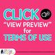Violet Flower Clip Art {Glitter Botanicals & Blossoms for Spring Activities}
