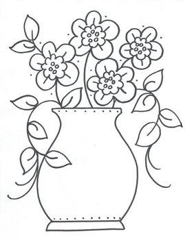Flower Bouquet in a Vase