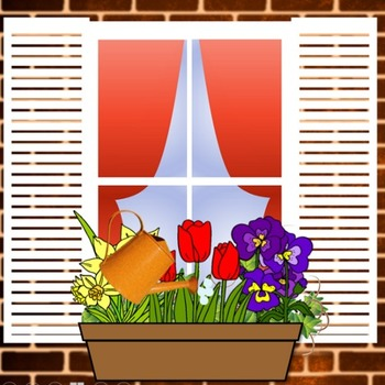 Flower Box Race:  A Spring Interactive Powerpoint Game (ANY Subject)