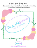 Flower Breath Worksheet
