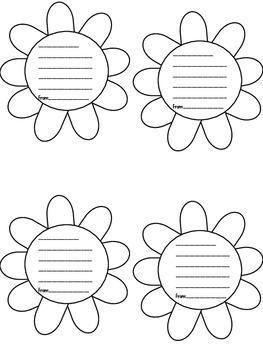 Flower Buds- kindness slips!