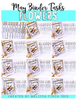 Flower Bundle- Independent Work Binder System