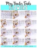 Flower Binder- Independent Work Binder System
