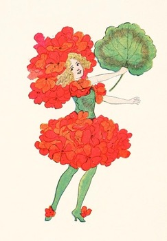Flower Children by Elizabeth Gordon - 82 beautiful images to use for anything!