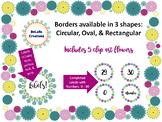 Flower Clip Art & Borders/Frames