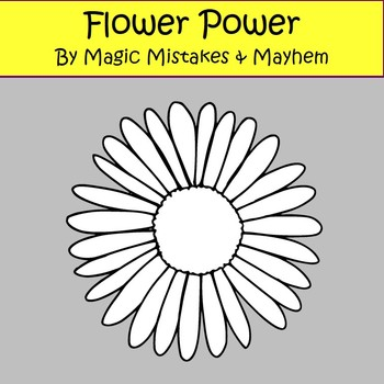 Flower Clip Art- perfect for Spring
