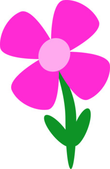 Flower ClipArt-300 DPI- *Freebie* Commercial use OK