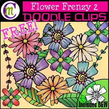 Flower Clipart FREEBIE