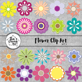 Flower Clip Art Set 3