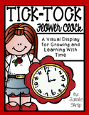 Tick-Tock Flower Clock [A Visual Display for Growing and Learning Time]