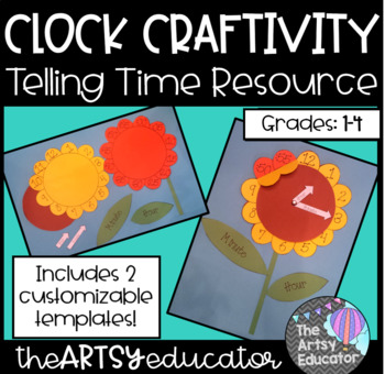 Flower Clock Craftivity!