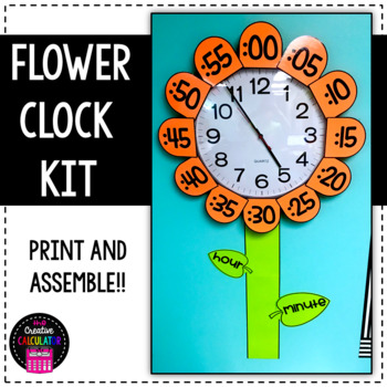 Flower Clock Label Kit