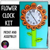 Flower Clock Label Kit