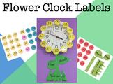 Flower Clock Labels (NSW Foundation Font)