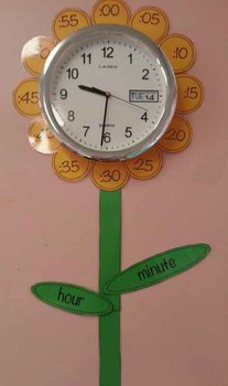 Flower Clock- Telling the Time