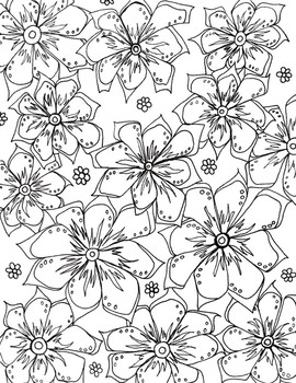 Flower Color Sheet