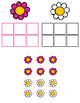 Flower Color Sorting File Folder Game for students with Au