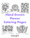 Flower Coloring Pages (Perfect for Spring, Earth Day, STEAM)