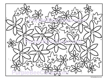 Flower Coloring Page #2