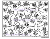 Flower Coloring Page #3