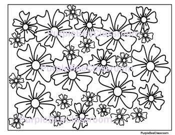 Flower Coloring Page #4