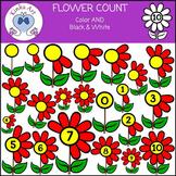 Flower Count Clip Art