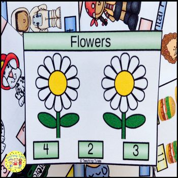 Flowers Task Cards