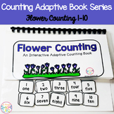 Flower Counting Adaptive Book (#1-10)