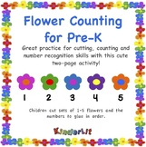 Flower Math -  Counting Sets In PreK