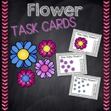 Flower Counting Task Cards