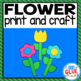 Flower Paper Craft Activity and Creative Writing