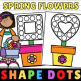 Flower Craft No Prep Shape Flowers Spring Printables