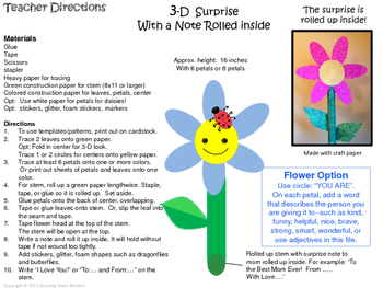 FLOWER CRAFT and WRITING