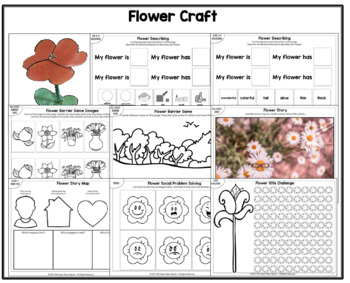 Flower Craft for Speech Therapy