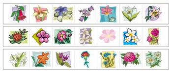 Flower Cutting Strips