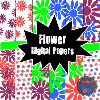 Flower Digital Paper