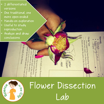 Flower Dissection Lab